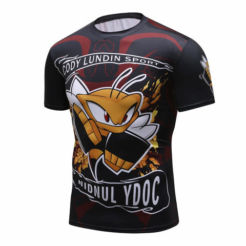 Cody Lundin Hornet Fighter Rash Guard