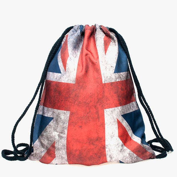 London Jack Draw String Bag