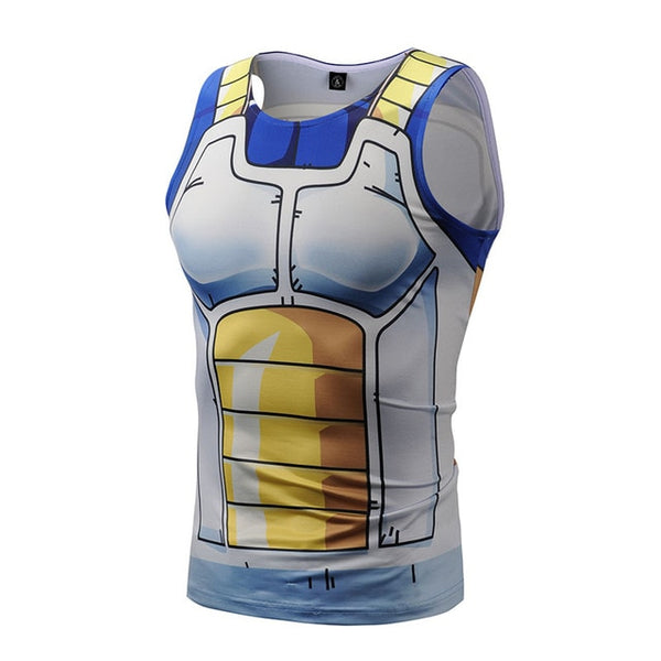 Dragon Ball Z Vegeta Workout Tank Top