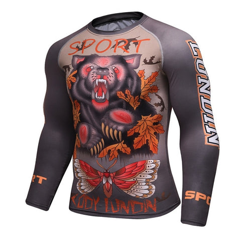Cody Lundin Sports Rash Guard - Long Sleeve