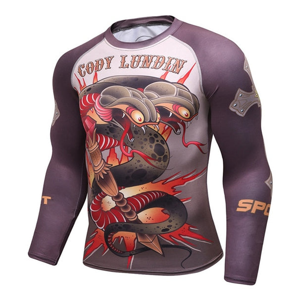 Cody Lundin Sports Viper Rash Guard - Long Sleeve