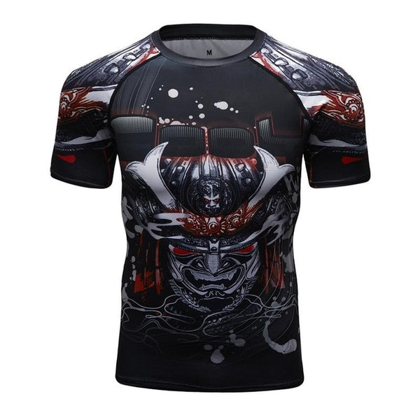 Cody Lundin Samurai  Compression Shirt Short Sleeve