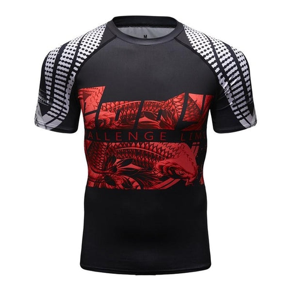 Cody Lundin Snake Compression Shirt Short Sleeve