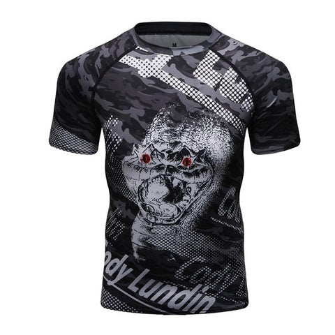 Cody Lundin Rattlesnake Compression Shirt Short Sleeve