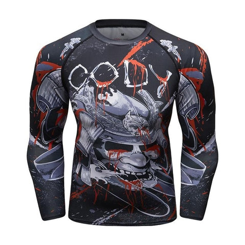 Cody Lundin Battle Samurai Compression Shirt Long Sleeve