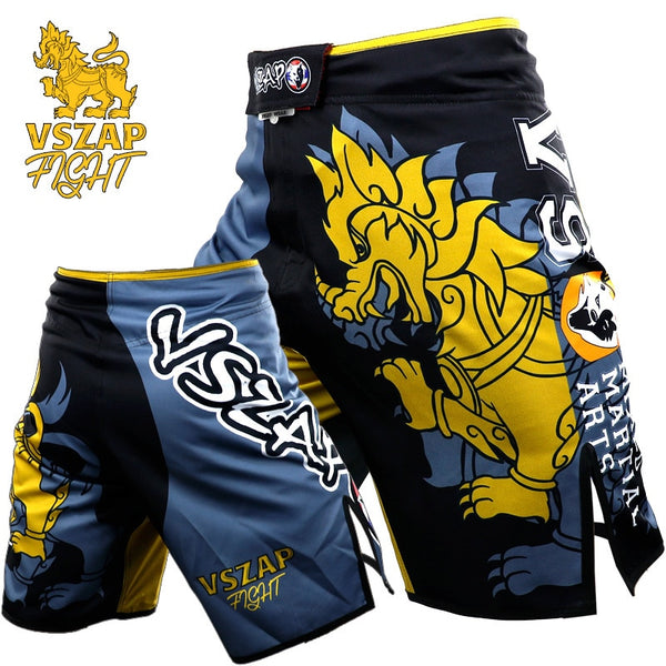 VSZAP Chinese Dragon Fighting Shorts