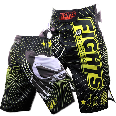 ROLLHO Panda Fight Shorts