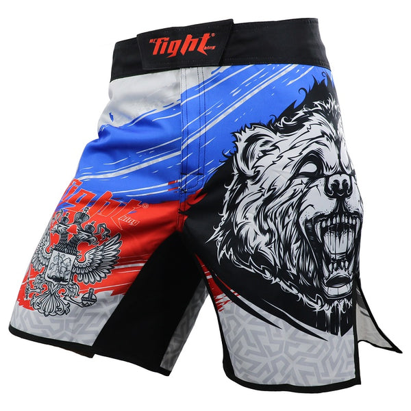 ROLLHO Russian Bear Fight Shorts