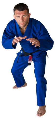 Sunrise Combat Gear Basic BJJ GI - Blue