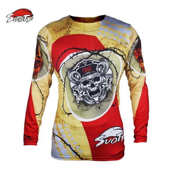 SUOTF Compression Shirt - Barbed Skull