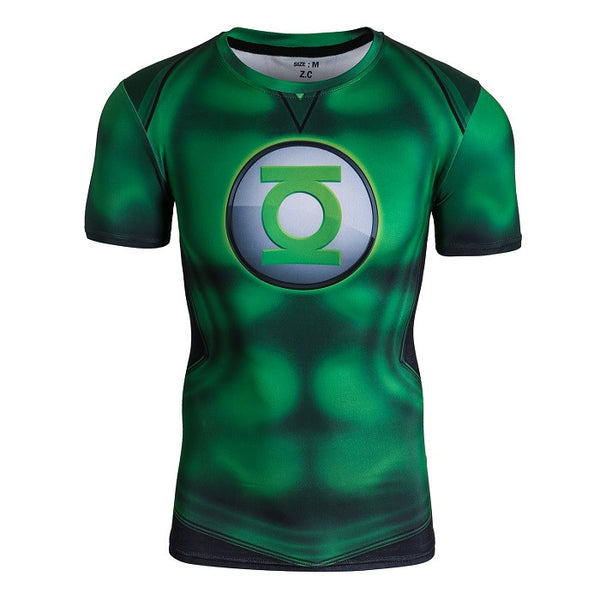 Green Lantern Compression Shirt - Short Sleeve