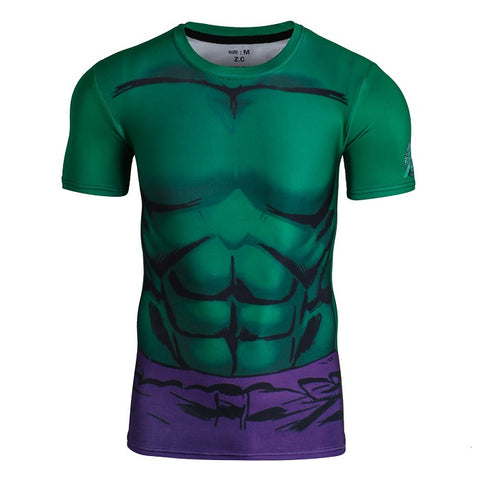 Hulk Under Armour Shirt - Short Sleeve