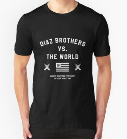 Diaz Brothers vs. The World T-Shirt