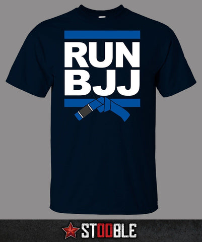 Run BJJ T-Shirt - Blue Belt