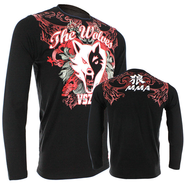 VSZAP The Wolves Long-Sleeve T-Shirt