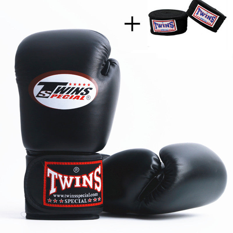 Shiv Naresh Teens Boxing Gloves 12oz: Twins Special Muay Thai Boxing Gloves + Free Matching