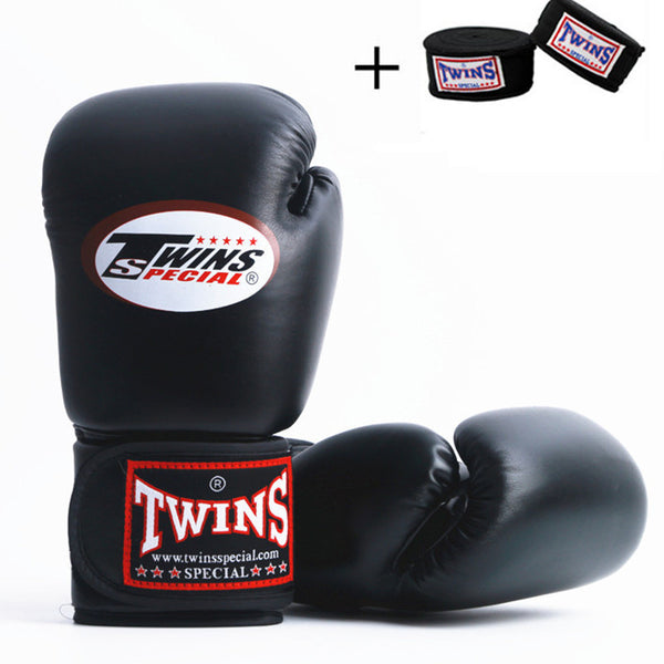 Twins Special Muay Thai Boxing Gloves + Free Matching Twins Hand Wraps