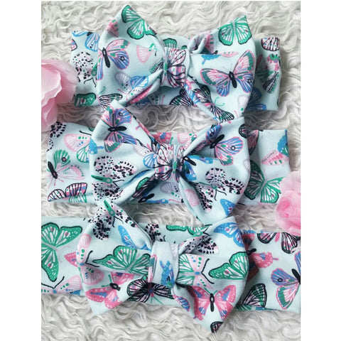 Butterfly bowband! Soft and stretchy!