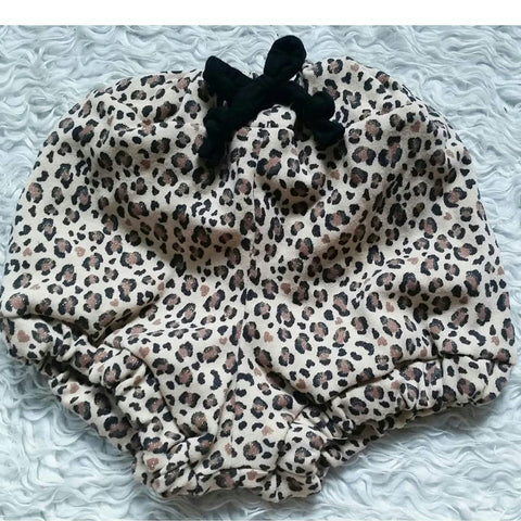 Leopard gold shimmer bloomers! Super soft and stretchy!