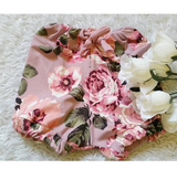 Dusty rose floral bloomers! Buttery soft!