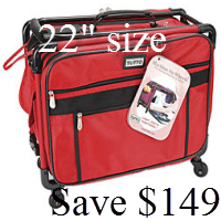 Tutto Sewing Machine Case - red - savings