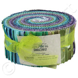 Benartex Fabrics - Dance of the Dragonfly Jelly Roll - 40pc of Fabric Strips
