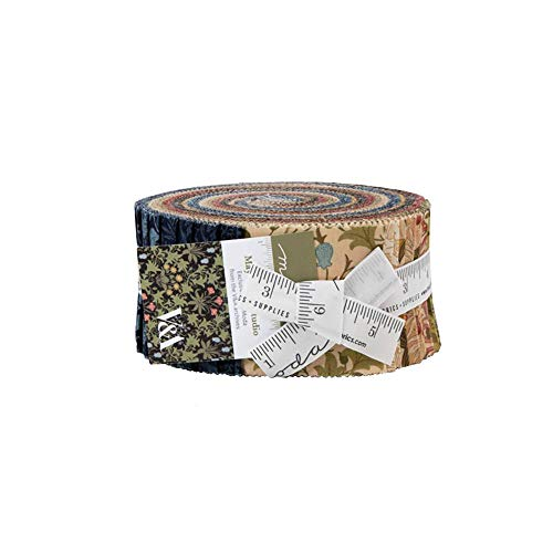 May Morris Studio Jelly Roll 40 2.5-inch Strips by V and A for Moda Fabrics
