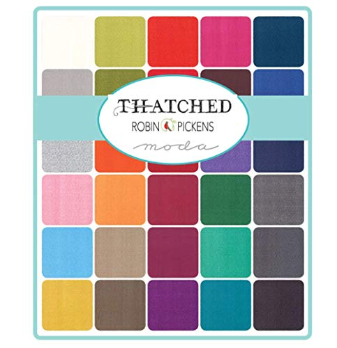 Thatched 42 10-inch Squares by Robin Pickens for Moda Fabrics