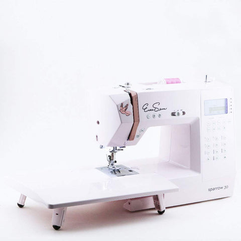 Eversewn-Sparrow 30-310 Stitch Computerized Sewing Machine w/ Bobbins & 6 pcs Accessory Foot Kit