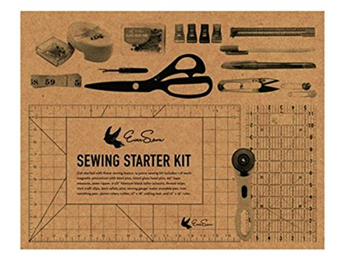 Sparrow 25 Sewing Machine & EverSewn Sewing Starter Kit Bundle