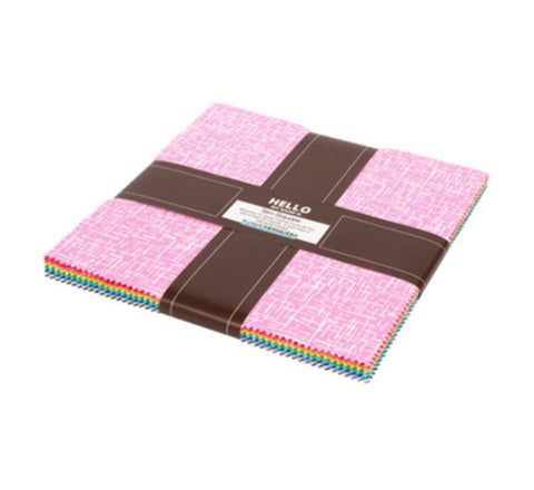 Violet Craft Modern Classics Ten Square 42 10-inch Squares Layer Cake Robert Kaufman Fabrics