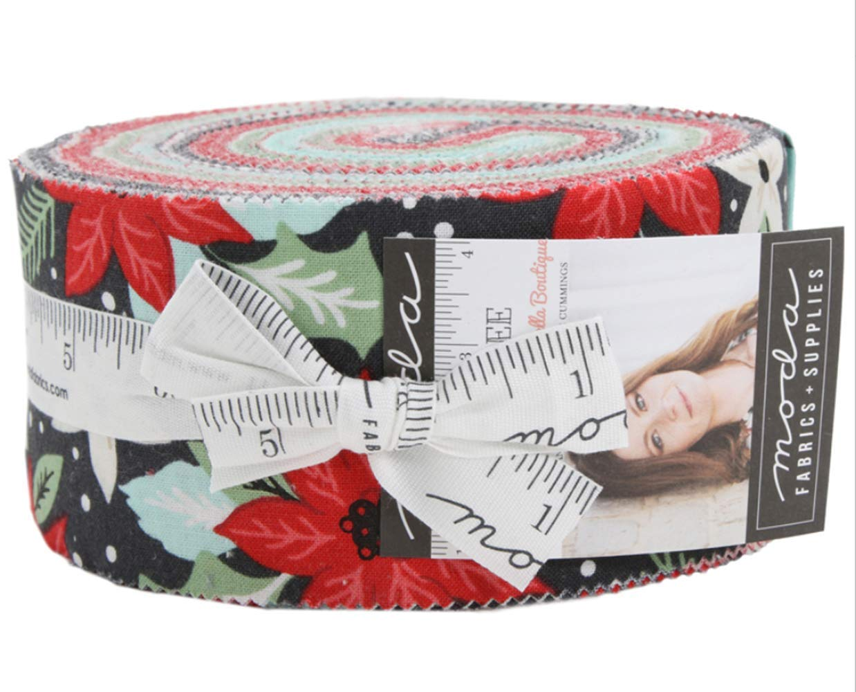 Little Tree Jelly Roll by Lella Boutique; 40 2.5-inch Strips - Moda Fabrics
