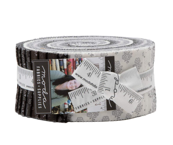 Urban Farmhouse Gatherings Jelly Roll  by Primitive Gatherings; 40 2.5-inch Strips - Moda Fabrics