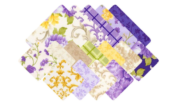 Beckford Terrace: Wisteria by Hyun Joo Lee; 42 10-inch Squares - Robert Kaufman