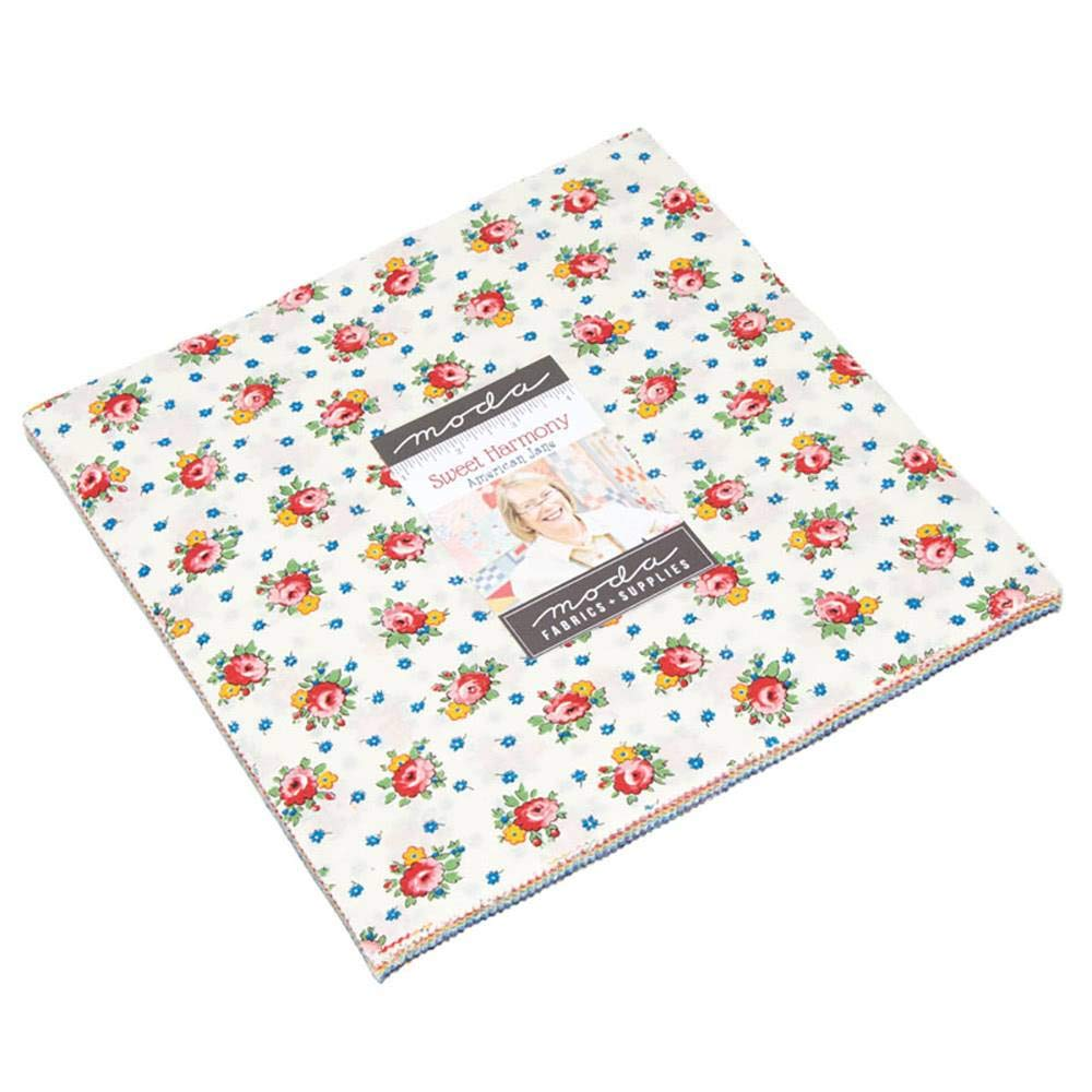 Sweet Harmony Layer Cake by American Jane, 42-10 inch Squares - MODA