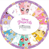 "Disney Forever Princess 10"" Squares 42 Pieces Layer Cake Camelot Fabrics"