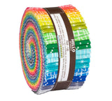 "Modern Classics Roll Up by Violet Craft; 40 2.5"" Strips - Robert Kaufman"