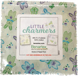 Little Charmers 5X5 Pack 42 5-inch Squares Charm Pack Benartex
