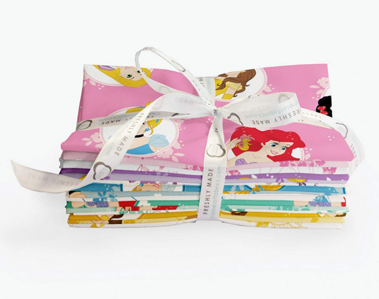 Disney Forever Princess 22 Fat Quarter Bundle by Camelot Fabrics