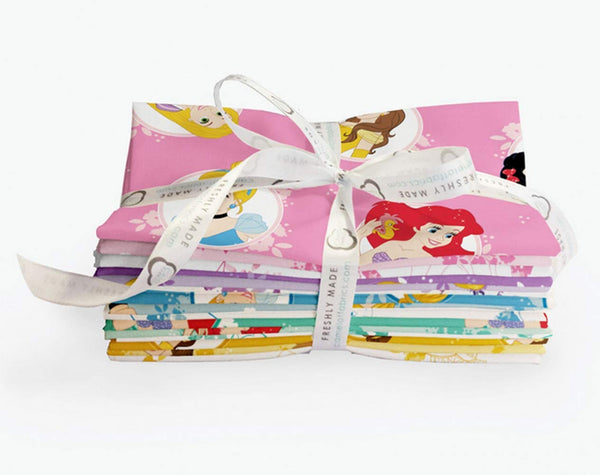 Disney Forever Princess; 22 Fat Quarter Bundle by Camelot Fabrics