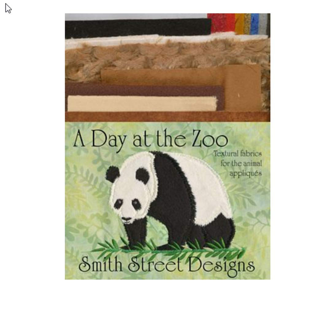 A Day at the Zoo Fabric Pack by Smith Street Designs
