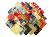 "Imperial Collection 15: Spring Colorstory by Hyun Joo Lee; 2.5"" strips - Robert Kaufman"