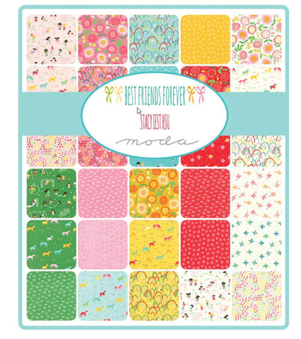 Best Friends Forever; 42 10-inch Squares by Stacy Iest HSU for Moda Fabrics