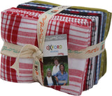 Oxford Wovens 19 Fat Quarter Bundle by Sweetwater for Moda Fabrics 5715AB