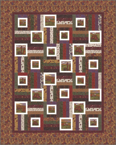Country Charm Quilt Kit by Holly Taylor - Moda Fabrics