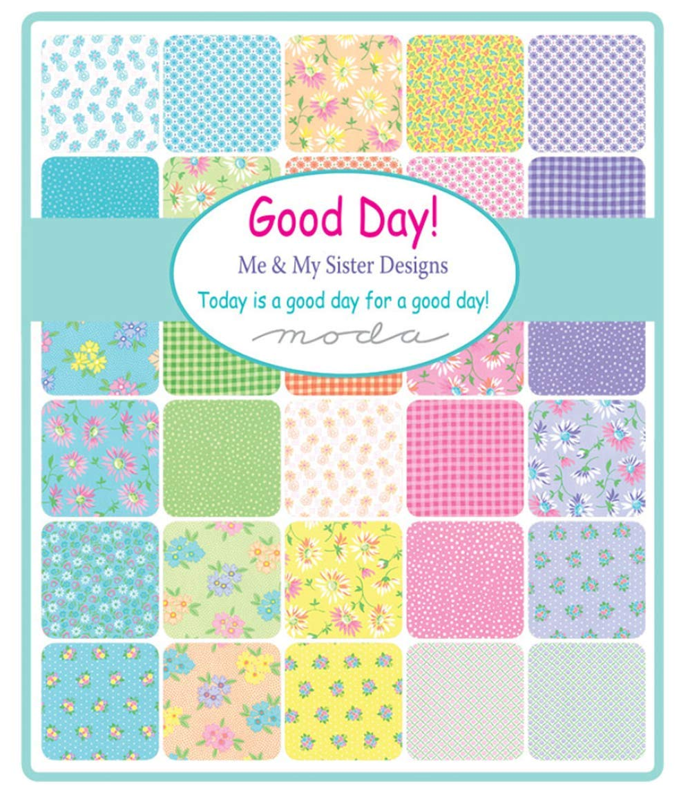 Jelly Roll 40 2.5-inch Strips by Me and My Sister Designs for Moda Fabrics Good Day