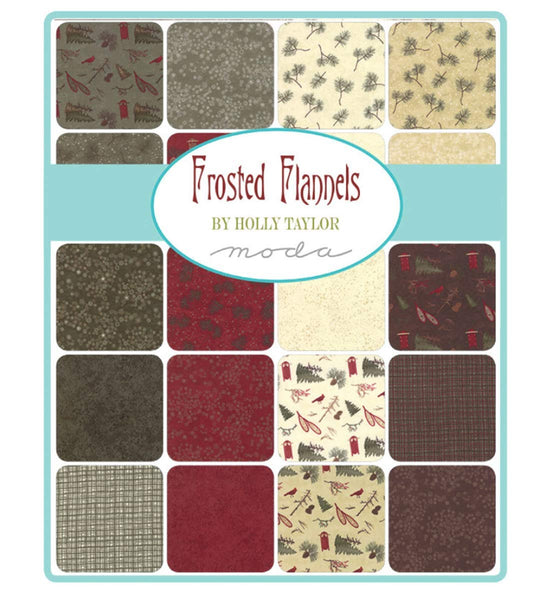 "Frosted Flannels Layer Cake by Holly Taylor; 42 10"" Squares - Moda"