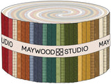 Heritage Woolies Flannel Strips by Bonnie Sullivan; 40 2.5-inch Strips - Maywood Studio