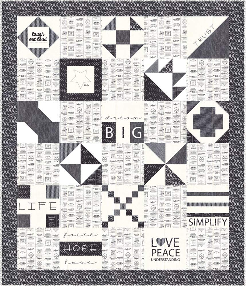 Sweetwater The Print Shop Dream Big Quilt Kit Moda Fabrics KIT5740