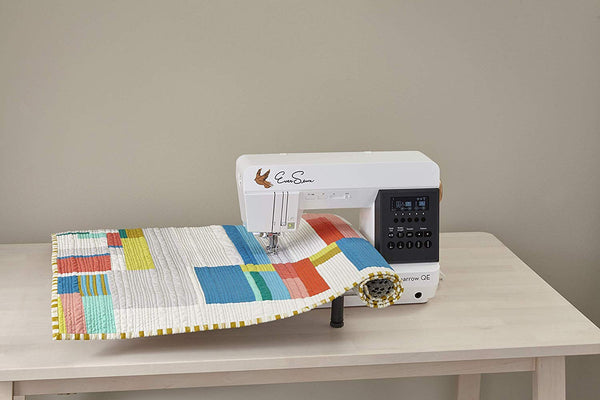 EverSewn Sparrow QE – Professional Sewing and Quilting Machine, White